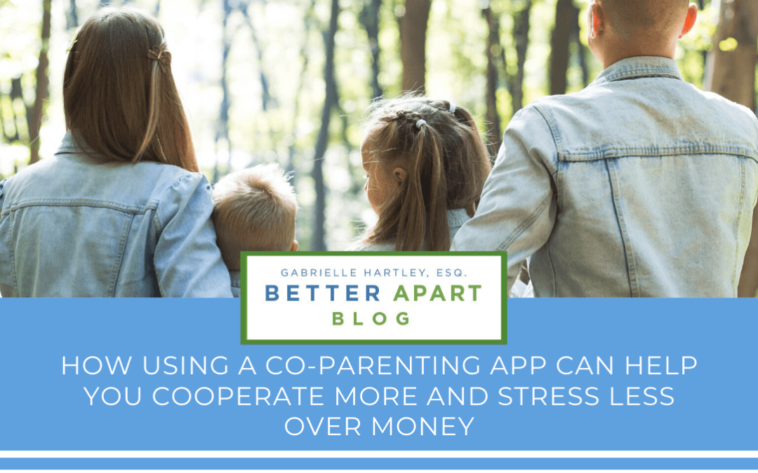How Using A Co-parenting App Can Help with Financial Stress