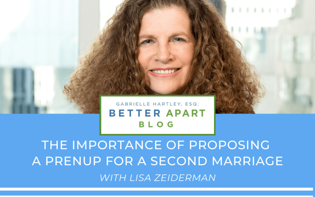 The Importance of Proposing a Prenup For A Second Marriage