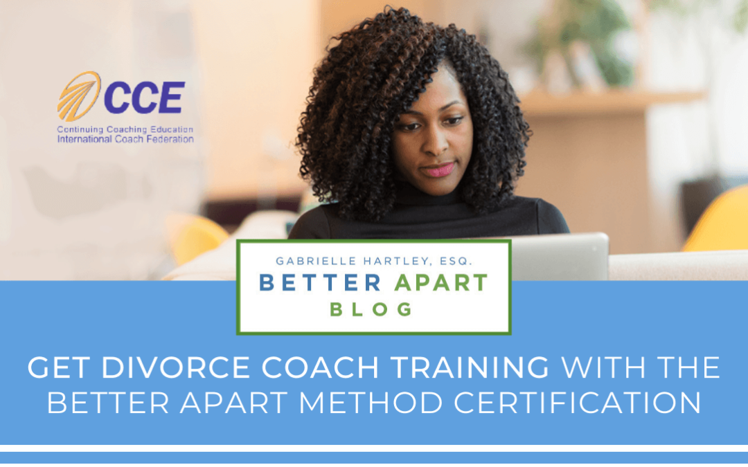 Woman Completing Online Divorce Coach Training