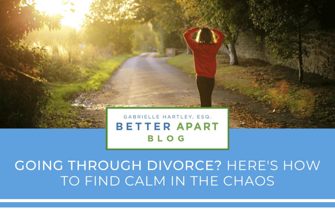 Going Through Divorce Blog image - Woman running